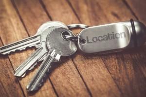 clé d'une location