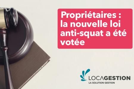 Propriétaires : L'amendement à la loi anti-squat voté