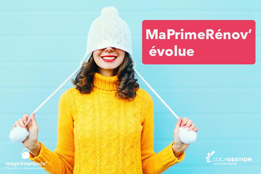 évolution maPrimeRénov